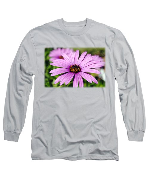 The African Daisy T-shirt 1 Long Sleeve T-Shirt by Isam Awad