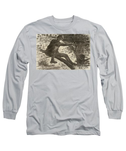 The Army Of The Potomac  A Sharpshooter Long Sleeve T-Shirt