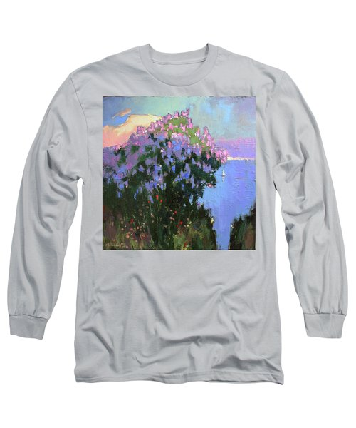 The Aroma Of Wandering Long Sleeve T-Shirt by Anastasija Kraineva