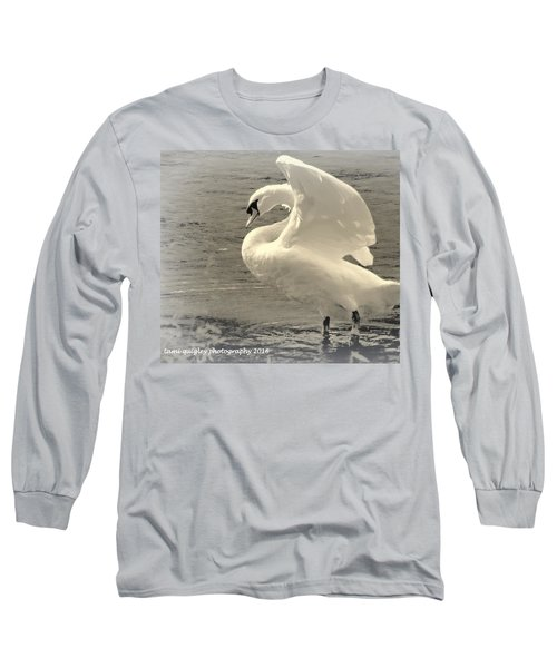 The Art Of The Swan  Long Sleeve T-Shirt