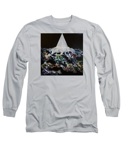 Long Sleeve T-Shirt featuring the painting The Assignment by Cheryl Pettigrew