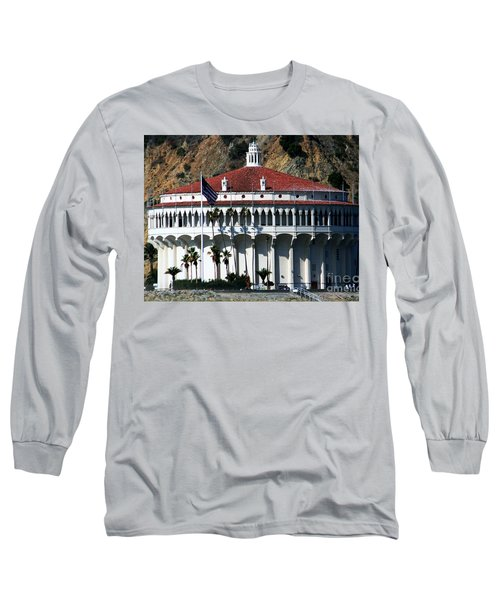 The Avalon Casino Long Sleeve T-Shirt by Polly Peacock