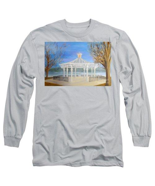 The Bandstand Basingstoke War Memorial Park Long Sleeve T-Shirt