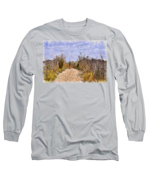 The Beach Awaits Long Sleeve T-Shirt