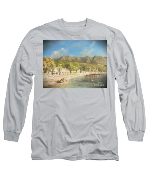 The Beach Of Ipsos Long Sleeve T-Shirt