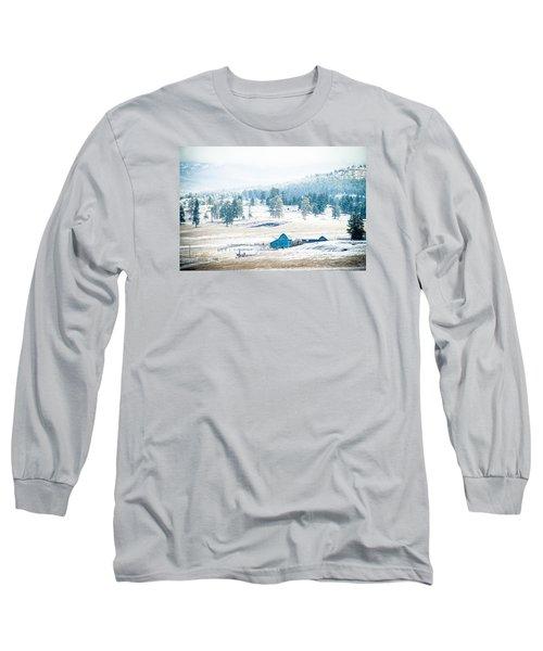 The Blue Barn Long Sleeve T-Shirt