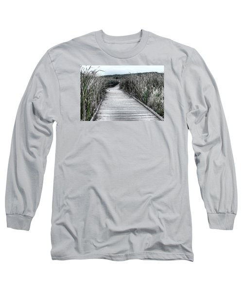 The Boardwalk Long Sleeve T-Shirt by Michaela Preston