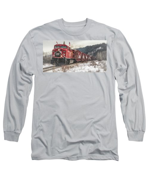 The Canadian Pacific Holiday Train Long Sleeve T-Shirt