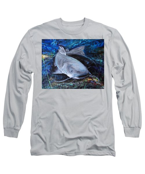The Catfish And The Crawdad Long Sleeve T-Shirt