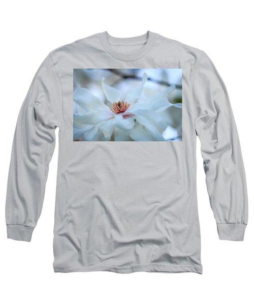 The Center Of Beauty Long Sleeve T-Shirt by Joni Eskridge