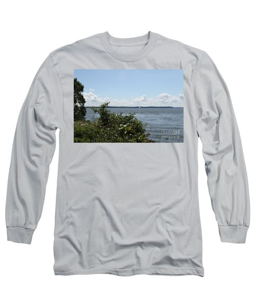 The Chesapeake From Turkey Point Long Sleeve T-Shirt