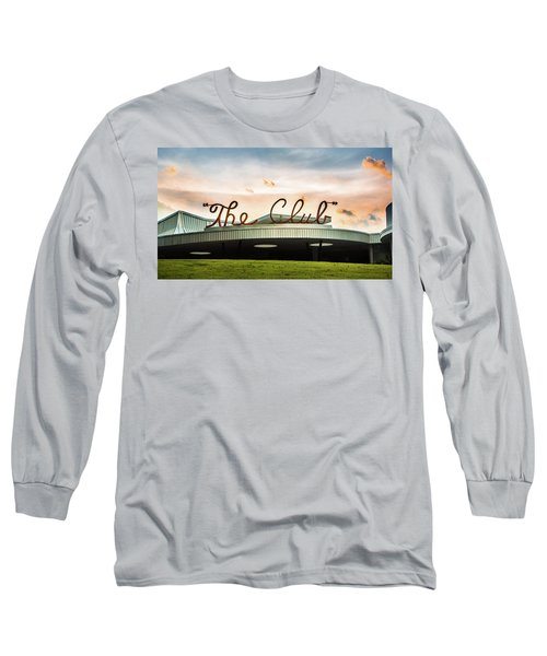 Long Sleeve T-Shirt featuring the photograph The Club Panorama by Parker Cunningham