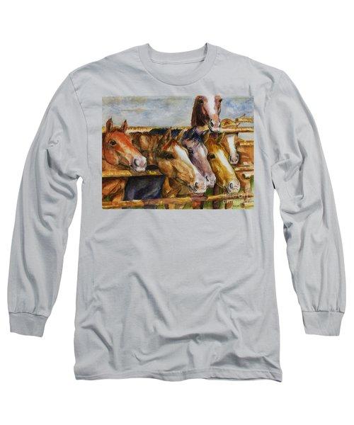 The Colorado Horse Rescue Long Sleeve T-Shirt