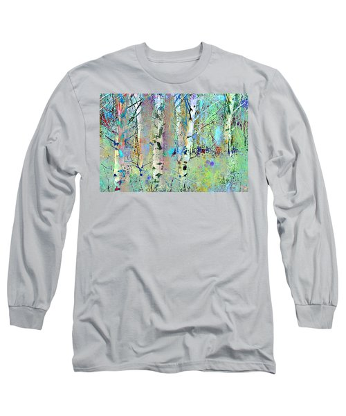 The Colouring Book In The Forest Long Sleeve T-Shirt