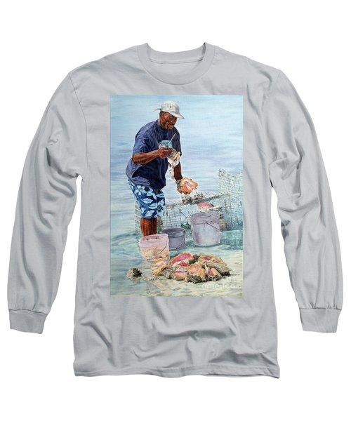 The Conch Man Long Sleeve T-Shirt
