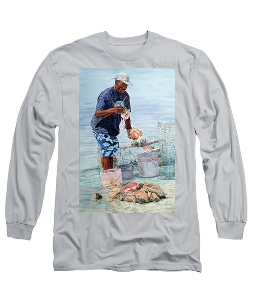 The Conch Man Long Sleeve T-Shirt