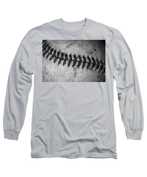 Long Sleeve T-Shirt featuring the photograph The Curve Ball by David Patterson