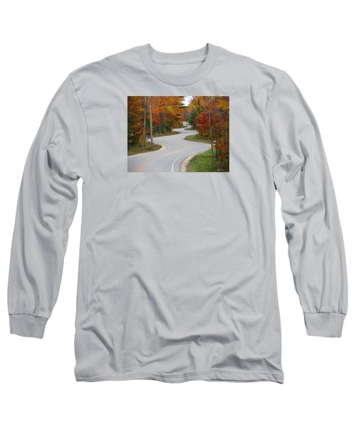 The Curvy Road Long Sleeve T-Shirt