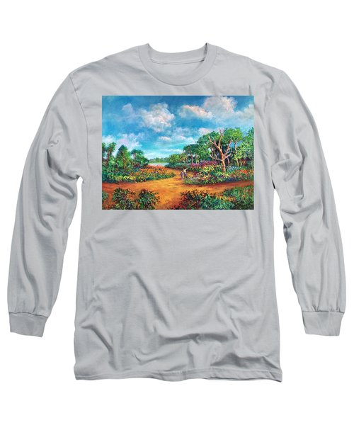 The Cycle Of Life Long Sleeve T-Shirt by Randy Burns