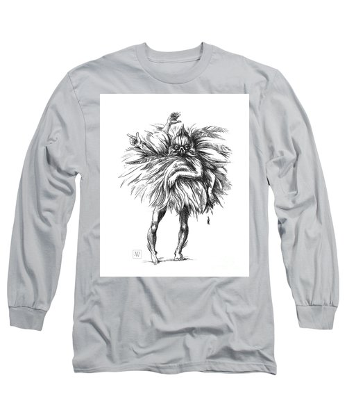 The Dance Macabre Long Sleeve T-Shirt by Yvonne Wright