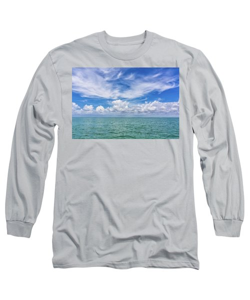 The Dance Of Clouds On The Sea Long Sleeve T-Shirt