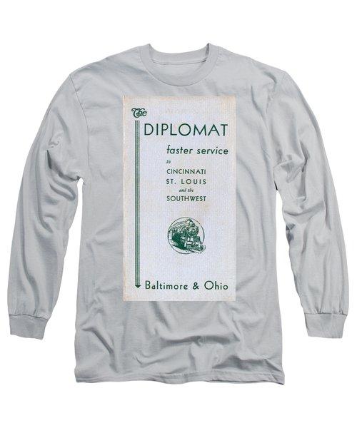 The Diplomat Long Sleeve T-Shirt