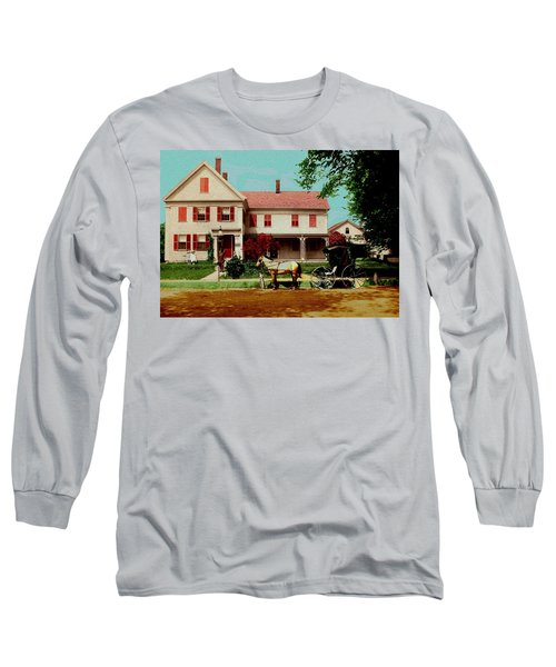 The Doctor Heads Out On A House Call Long Sleeve T-Shirt