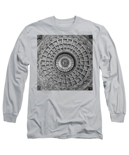 The Dome Bw  Long Sleeve T-Shirt