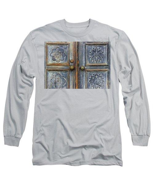 The Door Long Sleeve T-Shirt by Ranjini Kandasamy