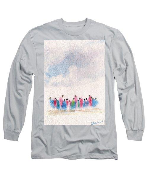 The Drifting People Long Sleeve T-Shirt