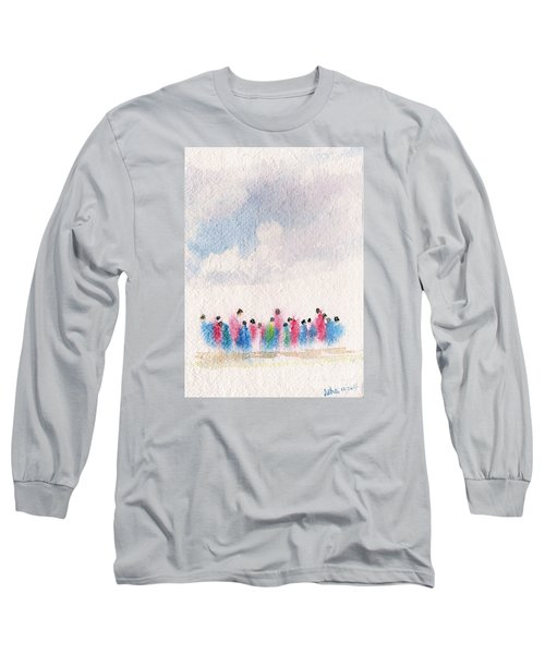 The Drifting People Long Sleeve T-Shirt