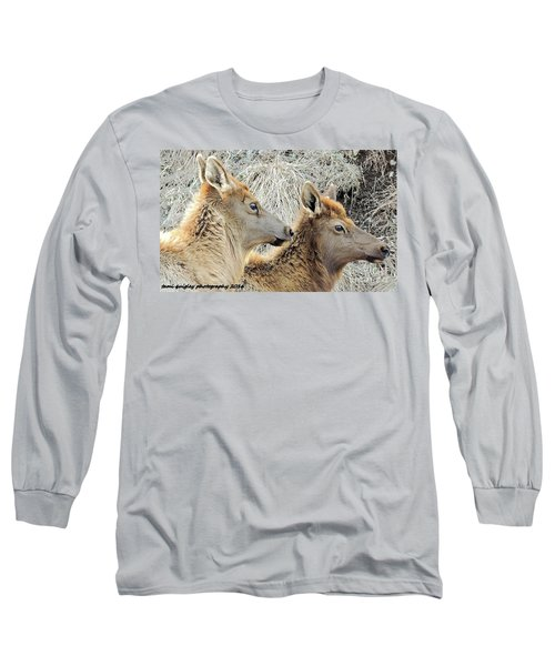 The Elk Of Winter  Long Sleeve T-Shirt