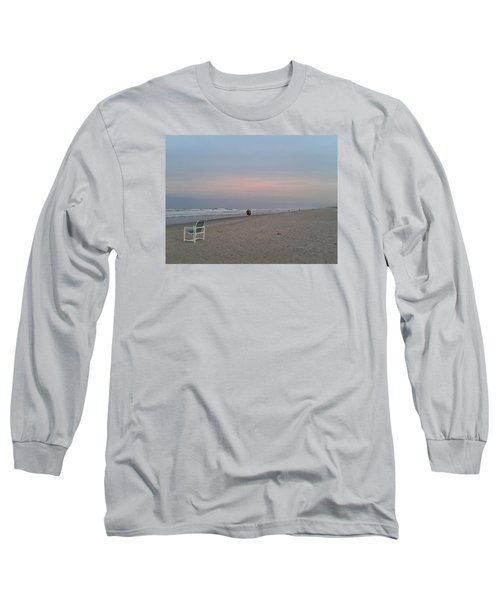 The End Of The Day Long Sleeve T-Shirt by Veronica Rickard