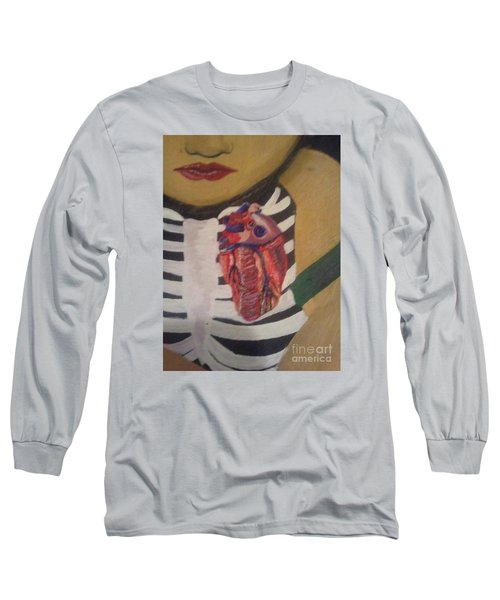 The Exposed Heart Of An Angel Long Sleeve T-Shirt
