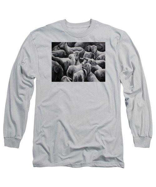 Flock 17 Long Sleeve T-Shirt by Jean Cormier