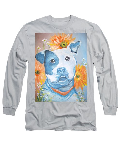 The Flower Pitt Long Sleeve T-Shirt