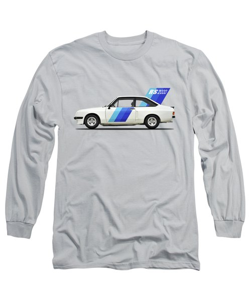 The Ford Escort Rs2000 Long Sleeve T-Shirt by Mark Rogan
