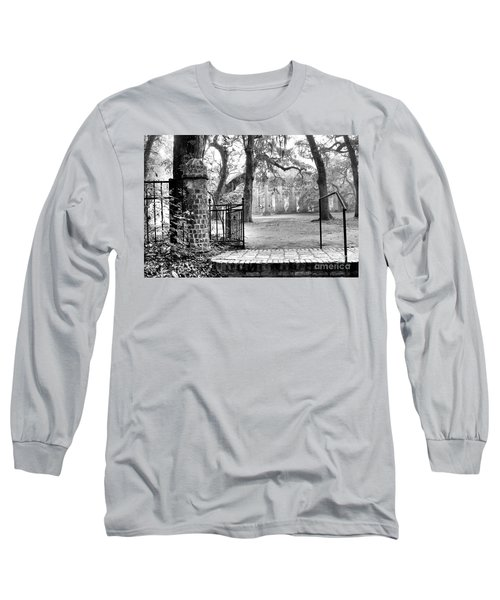 The Gates Of The Old Sheldon Church Long Sleeve T-Shirt