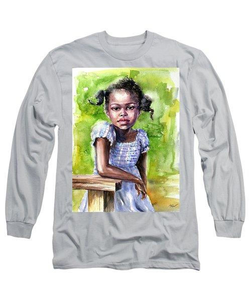 The Girl On The Veranda Long Sleeve T-Shirt