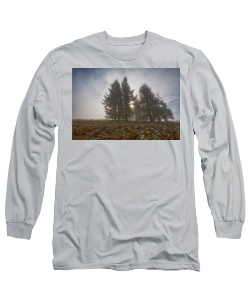 Long Sleeve T-Shirt featuring the photograph The Gloomy Sunrise by Jeremy Lavender Photography