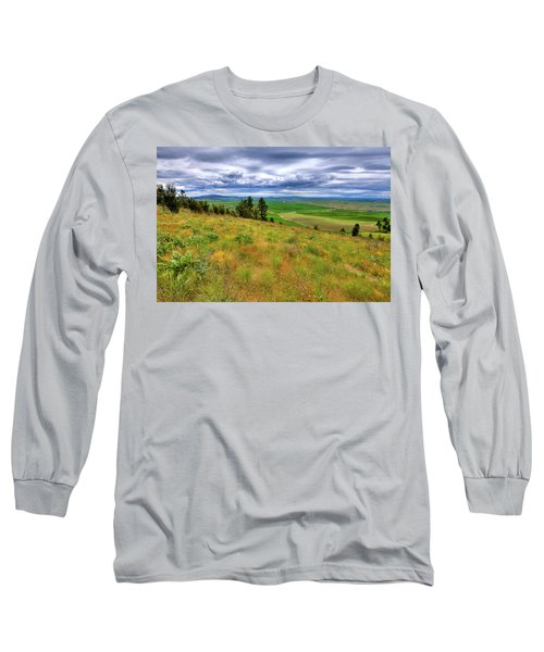 The Grasses Of Kamiak Butte Long Sleeve T-Shirt