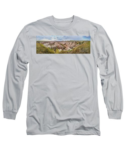 Deep And Wide Panorama Long Sleeve T-Shirt
