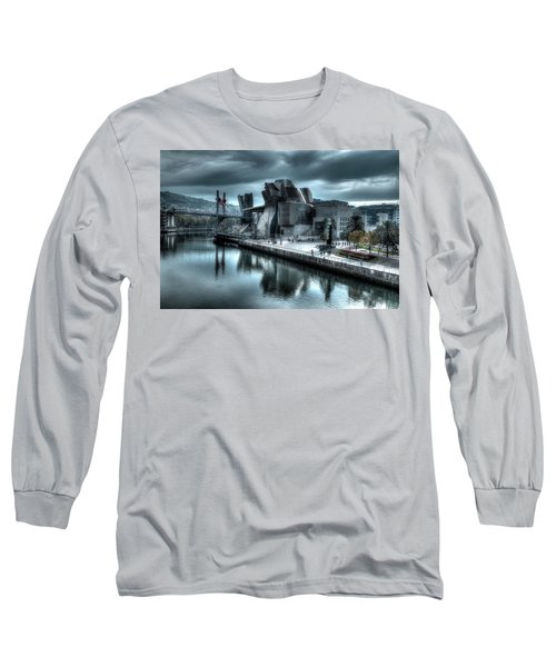 The Guggenheim Museum Bilbao Surreal Long Sleeve T-Shirt