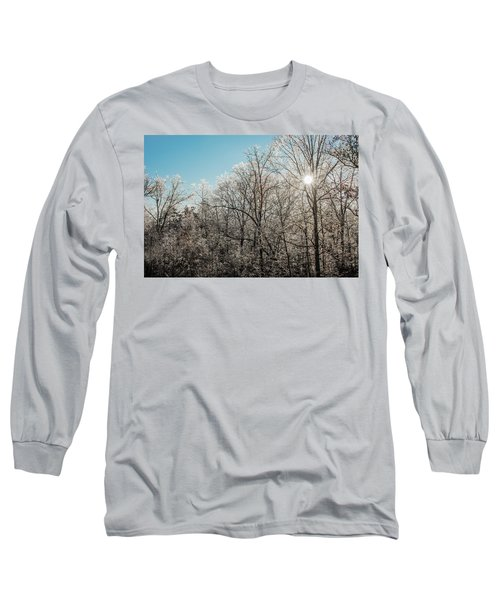 The Ice Storm Long Sleeve T-Shirt by Penny Lisowski