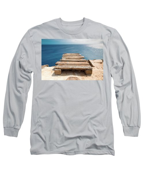 The Infinite Blue Long Sleeve T-Shirt