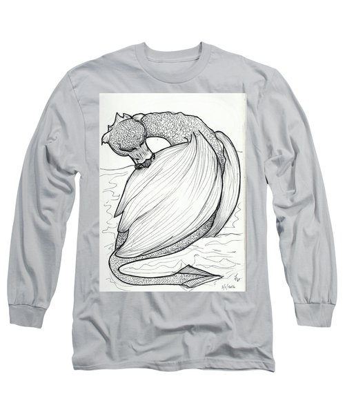The Itch Long Sleeve T-Shirt by Loretta Nash