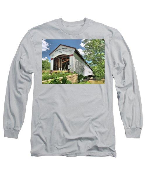 The Jackson Covered Bridge Long Sleeve T-Shirt