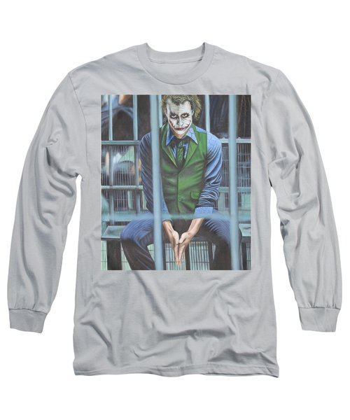 The Joker Long Sleeve T-Shirt by Colm Hutchinson