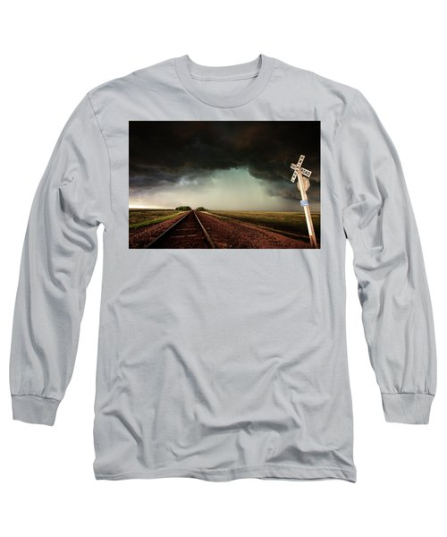 The Last Train To Darksville Long Sleeve T-Shirt