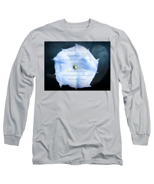 The Last Trumpet - Verse Long Sleeve T-Shirt